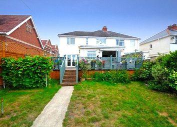 Queens Road, Alexandra Park, Parkstone, Poole BH14. 4 bed semi-detached house