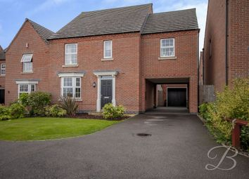 Thumbnail 4 bed detached house for sale in Rushpool Close, Forest Town, Mansfield