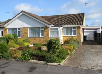 Thumbnail 2 bed semi-detached bungalow for sale in Heatherdown Road, West Moors, Ferndown