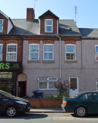Thumbnail 1 bed flat to rent in Railway Terrace, Rugby