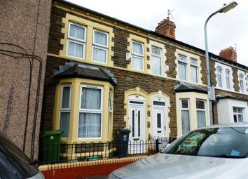 Thumbnail 3 bed terraced house for sale in Wells Street, Riverside, Cardiff