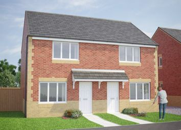Thumbnail 2 bed semi-detached house for sale in Selby Road, Askern, Doncaster