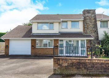 Thumbnail 4 bed detached house for sale in Woodlands Road, Loughor, Swansea