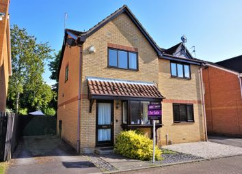 Thumbnail 2 bedroom semi-detached house for sale in Glemsford Rise, Orton Longueville, Peterborough
