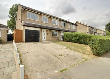Thumbnail 4 bed semi-detached house to rent in Longfellow Drive, Newport Pagnel, Milton Keynes
