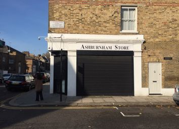 Thumbnail Retail premises for sale in Ashburnham Road, London