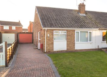 Thumbnail 2 bedroom semi-detached bungalow for sale in Barff Close, Brayton, Selby