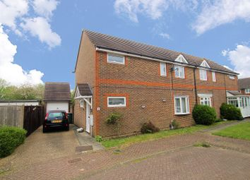 Thumbnail 3 bed semi-detached house for sale in Moorcroft Close, Ifield Road, Crawley, West Sussex.