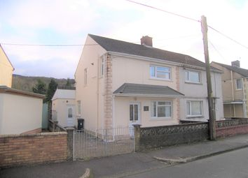 Thumbnail 3 bed semi-detached house for sale in Riverside Gardens, Glynneath, Neath