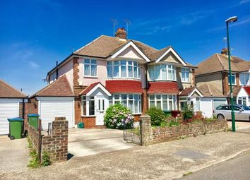 Thumbnail 3 bed semi-detached house for sale in Greencourt Drive, Bognor Regis, West Sussex