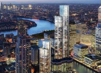 Thumbnail 1 bed flat for sale in South Quay Plaza Tower, Canary Wharf E14, London,