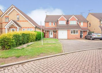 Thumbnail 3 bed semi-detached house for sale in Permian Close, Rugby