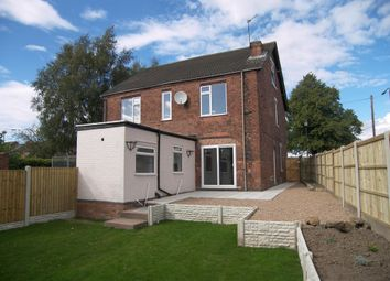 Thumbnail 2 bed semi-detached house to rent in The Common, South Normanton, Alfreton