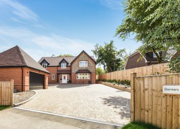 Thumbnail 5 bed detached house for sale in Horsepond Road, Gallowstree Common