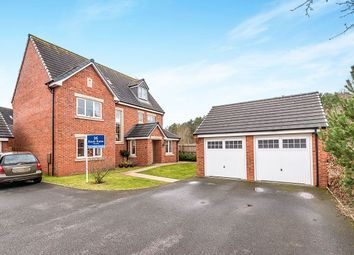 Thumbnail 5 bed detached house for sale in Lupin Drive, Huntington, Cannock