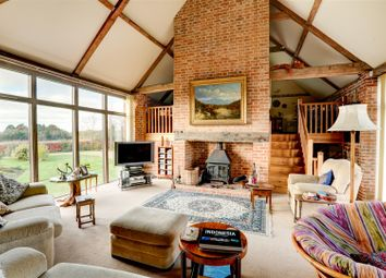 Thumbnail 4 bedroom barn conversion for sale in Church Lane, Antingham, North Walsham