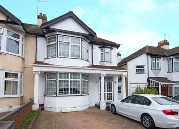 Thumbnail 3 bed semi-detached house for sale in Greenheys Drive, South Woodford, London