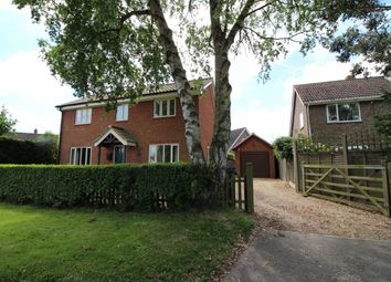 Thumbnail 3 bed detached house for sale in Hempnall Road, Woodton, Bungay