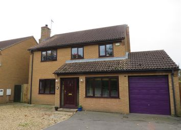Thumbnail 4 bed detached house for sale in Penwald Close, Crowland, Peterborough