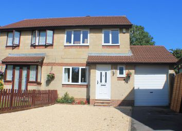 Thumbnail 3 bed semi-detached house for sale in Woodmill, Yatton, North Somerset