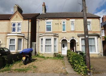 Thumbnail 3 bed semi-detached house for sale in Dogsthorpe Road, Peterborough, Cambridgeshire