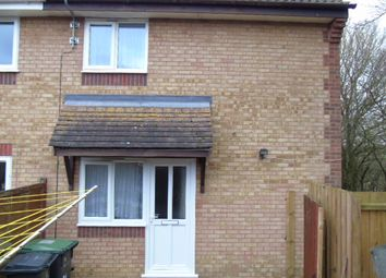 Thumbnail 1 bedroom semi-detached house to rent in Heron Close, Stowmarket