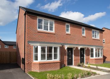 Thumbnail 3 bed semi-detached house for sale in Kingfisher Reach, Wistaston Green Road, Wistaston