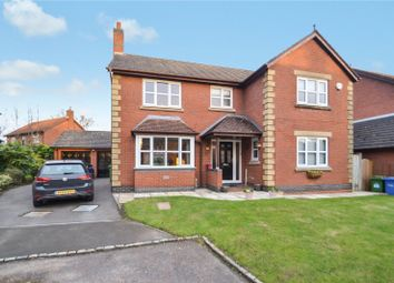 Thumbnail 4 bed detached house for sale in Hatfield Gardens, Appleton, Warrington