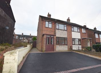 Thumbnail 3 bed semi-detached house to rent in Wayside Avenue, May Bank, Newcastle