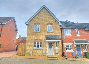 Thumbnail 3 bed semi-detached house for sale in Beech Court, Norwich