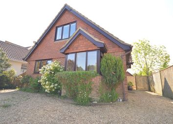 Thumbnail 3 bed detached house for sale in Heath Road, Hordle, Lymington