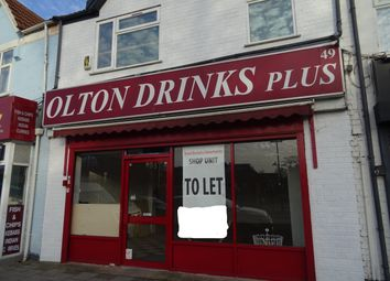 Thumbnail Retail premises to let in Olton Mere, Warwick Road, Solihull