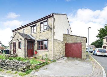 Thumbnail 3 bed semi-detached house for sale in Delph Croft View, Long Lee, West Yorkshire