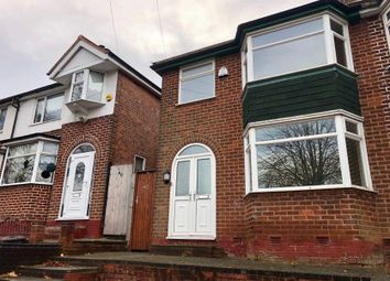 Thumbnail 3 bed semi-detached house to rent in Fowlmere Road, Birmingham