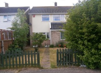 Thumbnail 3 bedroom semi-detached house to rent in Ash Close, Wymondham