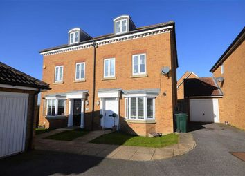 Thumbnail 3 bed town house to rent in Hedgers Way, Ashford, Kent