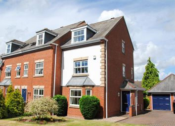 Thumbnail 3 bed town house for sale in Charter Approach, Warwick