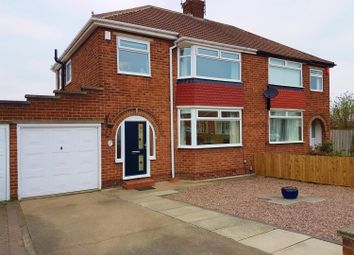 Thumbnail 3 bedroom semi-detached house for sale in The Oval, Brookfield, Middlesbrough