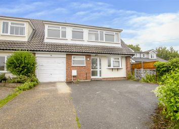 Thumbnail 3 bed semi-detached house for sale in Spillbutters, Doddinghurst, Brentwood