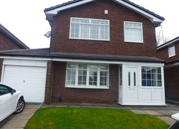 Thumbnail 4 bed detached house for sale in Rufford Close, Whitefield, Manchester