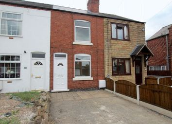 Thumbnail 2 bed terraced house to rent in Wood Street, Leabrooks, Alfreton