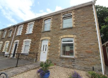 Thumbnail 3 bed end terrace house for sale in High Street, Pentwynmawr, Newbridge