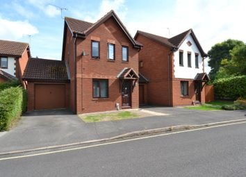 Thumbnail 3 bed detached house for sale in Grierson Close, Gloucester