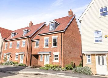 Thumbnail 4 bedroom end terrace house for sale in Tavener Drive, Biggleswade, Bedfordshire