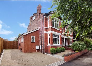Thumbnail 4 bed semi-detached house for sale in Grappenhall Road, Warrington