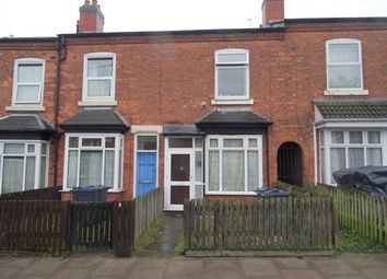 Thumbnail 2 bedroom terraced house for sale in Stamford Grove, Handsworth