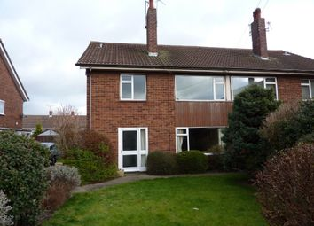 Thumbnail 2 bed flat to rent in Combermere Drive, Shrewsbury