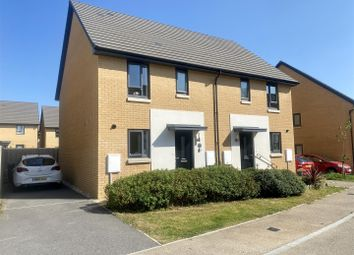 Thumbnail 3 bed semi-detached house for sale in Pear Lane, Plymouth