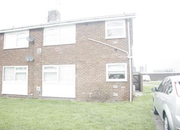 Thumbnail Flat for sale in Essex Close, Ashington, Northumberland