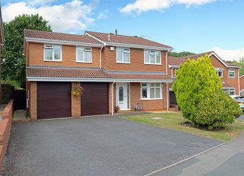 Thumbnail 4 bed detached house for sale in Lees Farm Drive, Madeley, Telford, Shropshire.